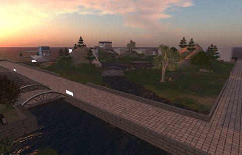Screenshot από τον τρισδιάστατο εικονικό κόσμο του PLAY