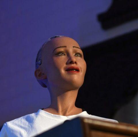 """Εικόνα του ρομπότ """"Sophia"""""""